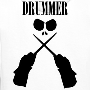 Drummer Sweat-shirts - Sweat-shirt à capuche Premium pour hommes