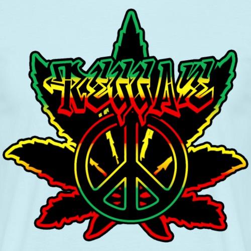 reggae peace weed