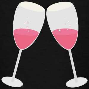 Champagne glasses Shirts - Teenage T-shirt