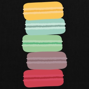colorful macarons Bags & Backpacks - Tote Bag
