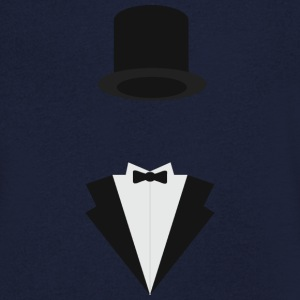 Tuxedo costume Tee shirts - T-shirt Homme col V