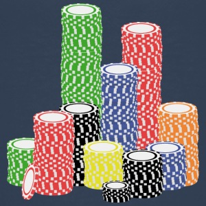 poker chips Shirts - Teenager Premium T-shirt