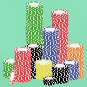 poker chips T-shirts - Vrouwen T-shirt