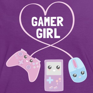 Gamer Girl - Frauen Kontrast-T-Shirt