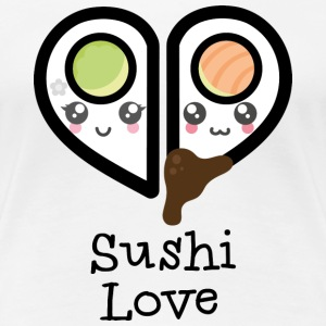 Sushi Love - Frauen Premium T-Shirt
