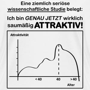 """Geburtstag T-Shirts mit """"40. Geburtstag Studie Wissenschaftlich bewiesen"""""""