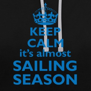 Almost sailing season  Sweat-shirts - Sweat-shirt contraste