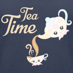 Tea Time - Frauen Premium Tank Top