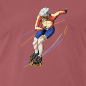 speedskating T-Shirts - Men's Premium T-Shirt