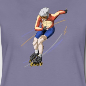 speedskating T-Shirts - Frauen Premium T-Shirt