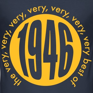 Very best of 1946 T-Shirts - Männer Slim Fit T-Shirt