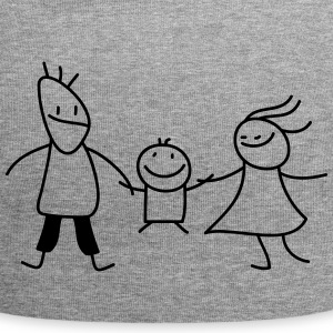 happy family (b) Kasketter & Huer - Jersey-Beanie