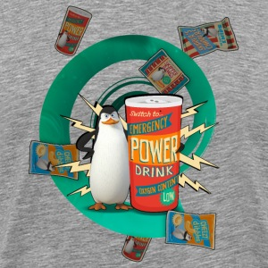 Penguins of Madagascar Power Drink Men's T-Shirt - Men's Premium T-Shirt