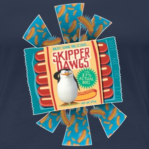 Penguins of Madagascar Skipper Dawgs Women T-Shirt - Women's Premium T-Shirt