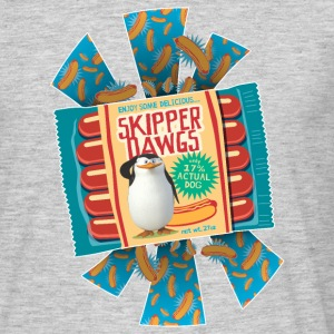 Penguins of Madagascar Skipper Dawgs Men's T-Shirt - Men's T-Shirt