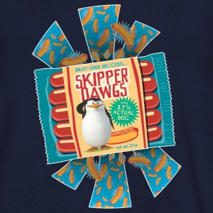 Penguins of Madagascar Skipper Dawgs Men's T-Shirt - Men's V-Neck T-Shirt