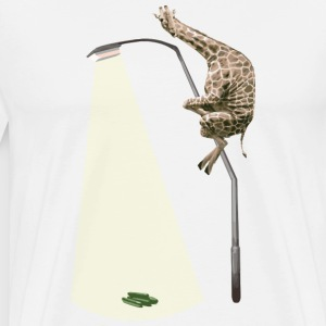 Giraffe and Cucumbers - Men's Premium T-Shirt