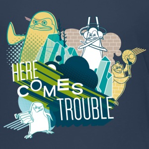 Penguins of Madagascar Here comes trouble Teenager - Teenage Premium T-Shirt