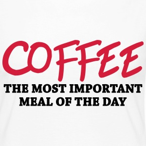 Coffee - the most important meal Long Sleeve Shirts - Women's Premium Longsleeve Shirt