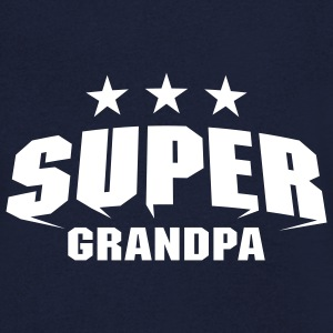 Super Grandpa T-Shirts - Men's V-Neck T-Shirt