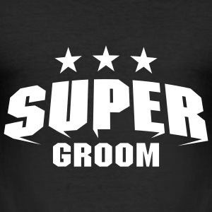 Super Groom T-Shirts - Men's Slim Fit T-Shirt