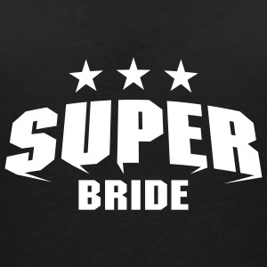 Super Bride T-Shirts - Women's V-Neck T-Shirt