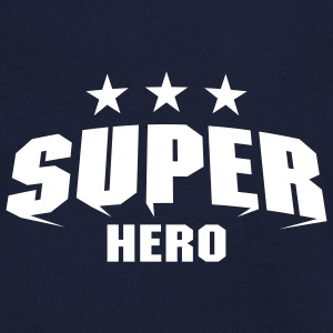 Super Hero T-Shirts - Men's V-Neck T-Shirt