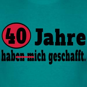 """Geburtstag T-Shirts mit """"40 Jahre Spruch"""""""