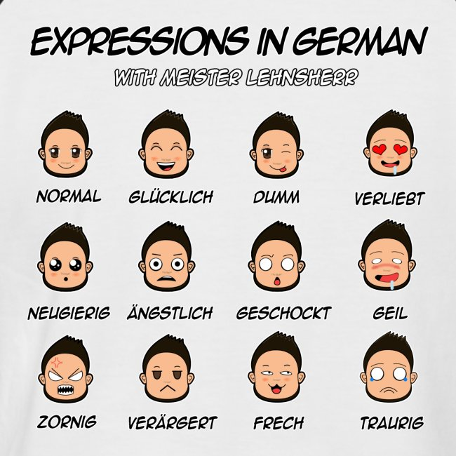German Expressions Baseball Short