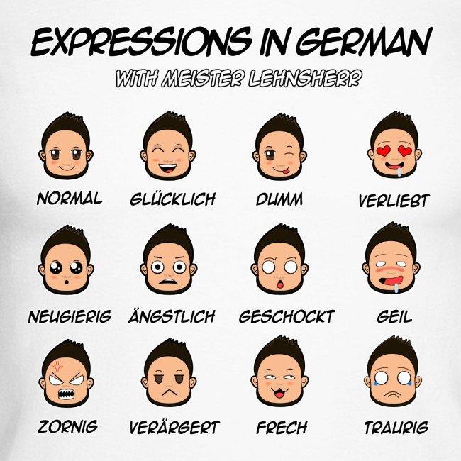 German Expressions Baseball Long