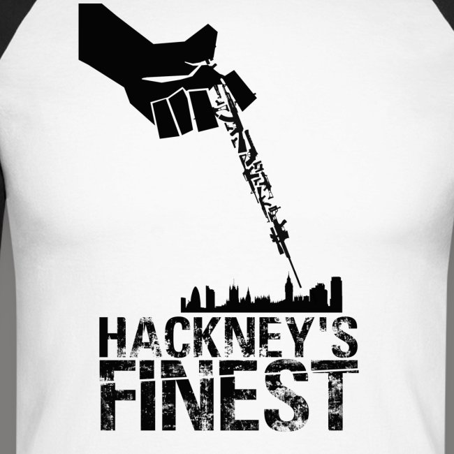 Hackney's Finest long-sleave baseball shirt
