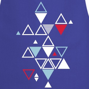 graphic pattern of triangles  Aprons - Cooking Apron