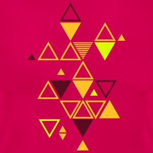 graphic pattern of triangles T-Shirts - Women's T-Shirt