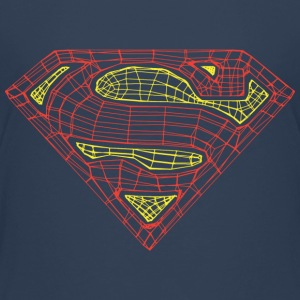 Superman Logo Linien Teenager T-Shirt - Teenager Premium T-Shirt