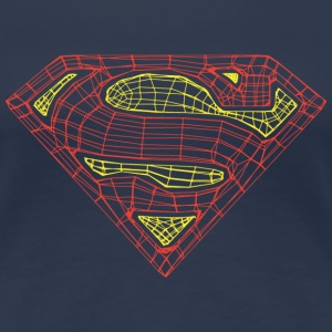 Superman Logo Frauen T-Shirt - Frauen Premium T-Shirt