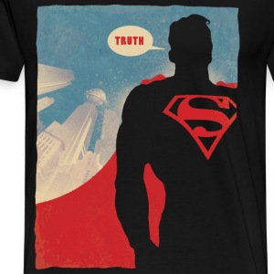 Superman Truth Men T-Shirt - Herre premium T-shirt