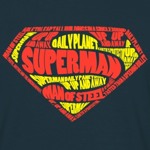 Superman Logo Men T-Shirt - Mannen T-shirt