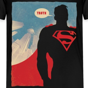 Superman Truth Teenager T-Shirt - Premium T-skjorte for tenåringer