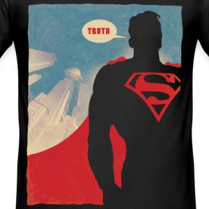 Superman Truth Männer T-Shirt - Männer Slim Fit T-Shirt