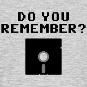 DO You Remember? (Floppy Disk 5 1/4) Magliette - Maglietta da uomo