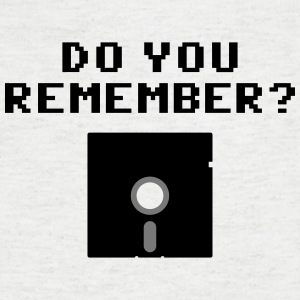 DO You Remember? (Floppy Disk 5 1/4) T-Shirts - Männer T-Shirt mit V-Ausschnitt