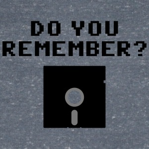 DO You Remember? (Floppy Disk 5 1/4) Koszulki - Koszulka męska Canvas z dekoltem w serek