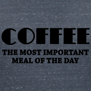 Coffee - the most important meal T-Shirts - Women's V-Neck T-Shirt