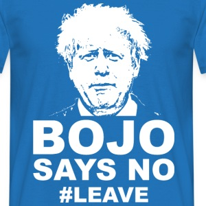 Bo Jo says no - Men's T-Shirt
