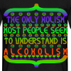 AlcoHolism - Men's T-Shirt
