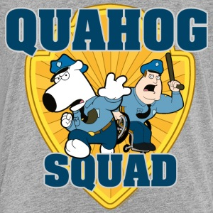 Family Guy Brian and Joe Quahog Squad Teenager T-S - Teenage Premium T-Shirt