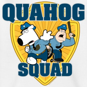 Family Guy Brian and Joe Quahog Squad Teenager T-S - Teenager T-shirt