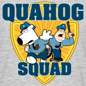 Family Guy Brian and Joe Quahog Squad Men T-Shirt - Koszulka męska