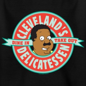 Family Guy Cleveland's Delicatessen Teenager T-Shi - T-shirt tonåring