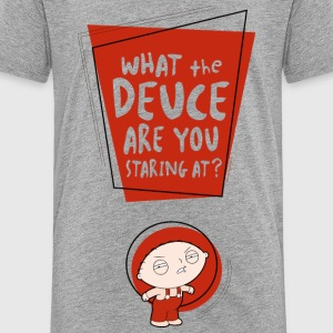 Family Guy Stewie What the Deuce Teenager T-Shirt - Teenage Premium T-Shirt